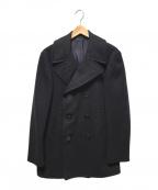 U.S. NAVAL RESERVE CLOTHING(ユーエスナバルリサーブクロージング)の古着「50'S Pコート」|ブラック