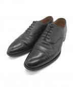 Lloyd footwear(ロイドフットウェア)の古着「ストレートチップシューズ」|ブラック
