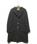 HAVERSACK()の古着「モッサーチェスターコート」|グレー