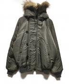 SPIEWAK(スピワック)の古着「N-2Bジャケット」|カーキ