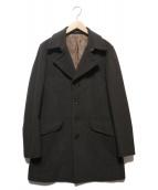 PS Paul Smith(ピーエスポールスミス)の古着「カシミヤ混シングルコート」|ブラウン