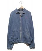 POLO RALPH LAUREN(ポロラルフローレン)の古着「90'Sデニムスイングトップ」 インディゴ