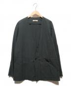 nestrobe confect(ネストローブ コンフェクト)の古着「カラーレスジャケット」 ブラック