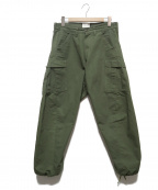 CAL O LINE(キャルオーライン)の古着「3D Fatigue Pants/カーゴパンツ」 カーキ