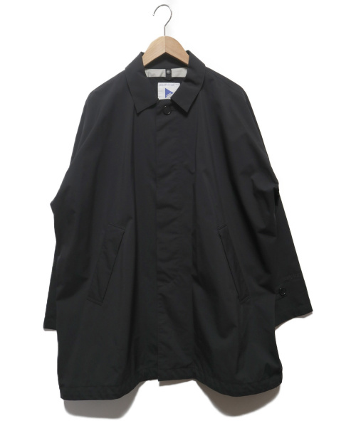 02DERIV(ツーディライヴ)02DERIV (ツーディライヴ) GORE-TEXステンカラーコート ブラック サイズ:1の古着・服飾アイテム