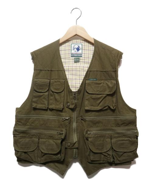 NIGEL CABOURN(ナイジェルケーボン)NIGEL CABOURN (ナイジェルケーボン) オールドフィッシングベスト オリーブ サイズ:2の古着・服飾アイテム