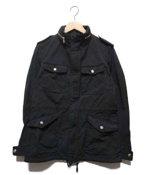 N.MASAKI COLORS()N.MASAKI COLORS (エヌマサキ カラー) カモ柄M65ジャケット ネイビー サイズ:44の古着・服飾アイテム