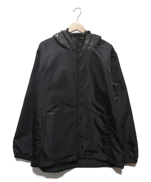 uniform experiment(ユニフォームエクスペリメント)uniform experiment (ユニフォームエクスペリメント) STAR HOODED ZIP BLOUSON ブラック サイズ:4の古着・服飾アイテム