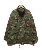 BRITISH ARMY(ブリティッシュアーミー)の古着「WOODLAND DPM CAMO FIELD JACKET」|オリーブ