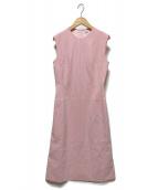 ()の古着「ノースリーブワンピース」|ピンク