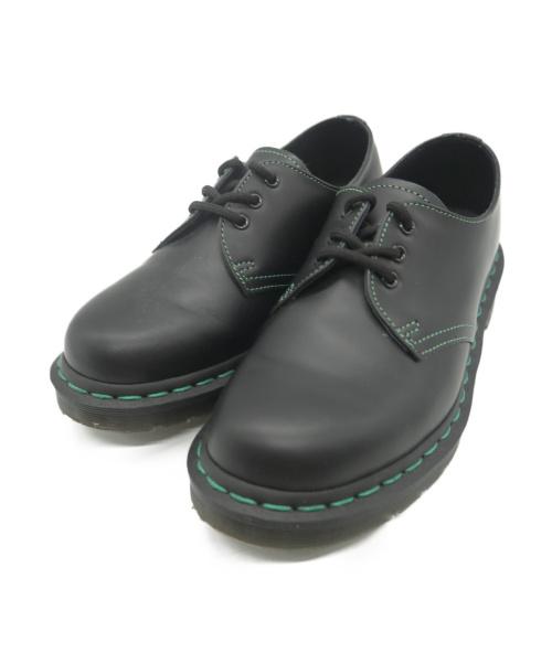 Dr.Martens(ト゛クターマーチン)Dr.Martens (ドクターマーチン) 3ホールシューズ ブラック サイズ:UK4の古着・服飾アイテム