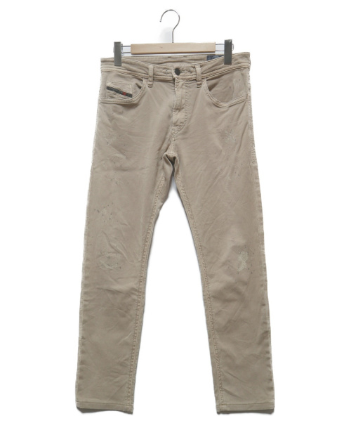 DIESEL(ディーゼル)DIESEL (ディーゼル) THOMMER CB JOGGJEANS ベージュ サイズ:30 の古着・服飾アイテム