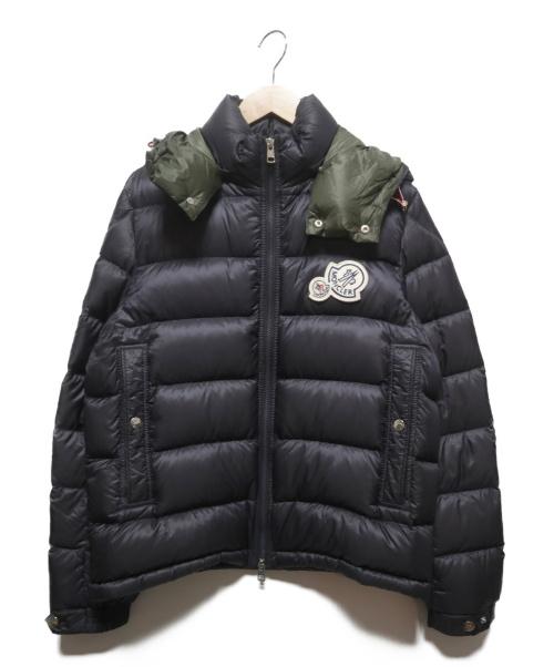 MONCLER(モンクレール)MONCLER (モンクレール) BRAMANTダウンジャケット ネイビー サイズ:2の古着・服飾アイテム