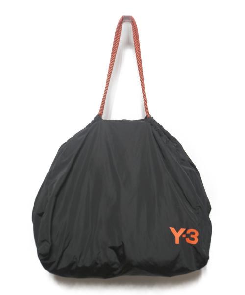 Y-3(ワイスリー)Y-3 (ワイスリー) BEACH BAG ブラック×オレンジの古着・服飾アイテム