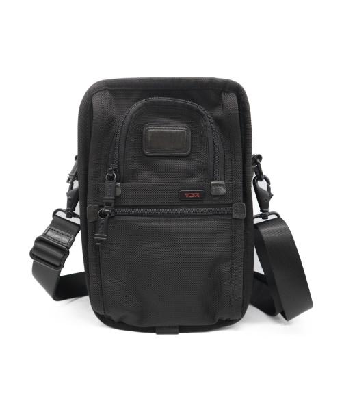 TUMI(トゥミ)TUMI (トゥミ) トラベルショルダーバッグ ブラックの古着・服飾アイテム