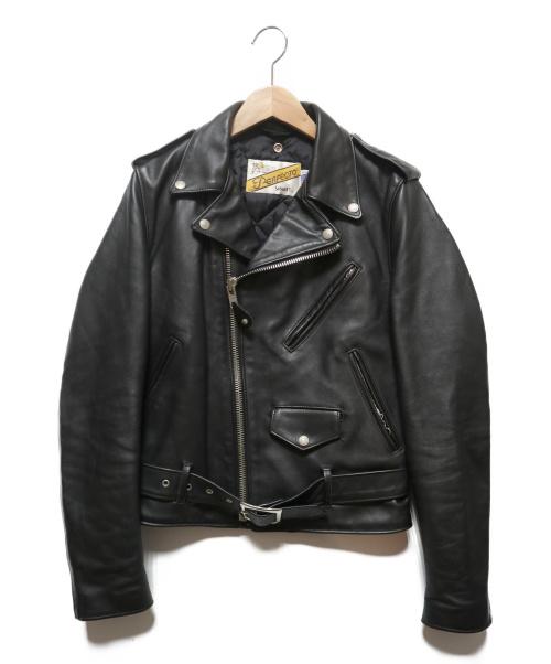 Schott(ショット)Schott (ショット) 618ダブルライダースジャケット ブラック サイズ:36の古着・服飾アイテム
