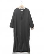 SACRA(サクラ)の古着「BULGING KERSEY OP」|ブラック