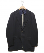 Paul Smith COLLECTION(ポールスミスコレクション)の古着「2Bステッチデザインジャケット」 ネイビー