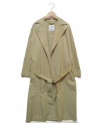 GRANDMA MAMA DAUGHTER(グランマママドーター)の古着「ベルテッドコート」|ベージュ