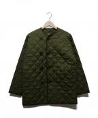 British Army(ブリティッシュアーミー)の古着「キルティングライナージャケット」|オリーブ