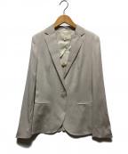 UNTITLED(アンタイトル)の古着「エクストラセタメリノテーラードジャケット」|アイボリー