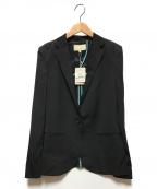 UNTITLED(アンタイトル)の古着「エクストラセタメリノテーラードジャケット」|ブラック