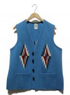 ORTEGAS(オルテガ)の古着「チマヨベスト」 ブルー