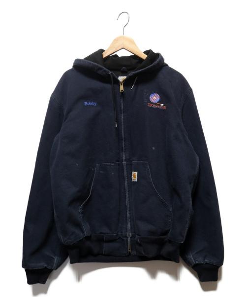 CarHartt(カーハート)CarHartt (カーハート) アクティブジャケット ネイビー サイズ:Mの古着・服飾アイテム