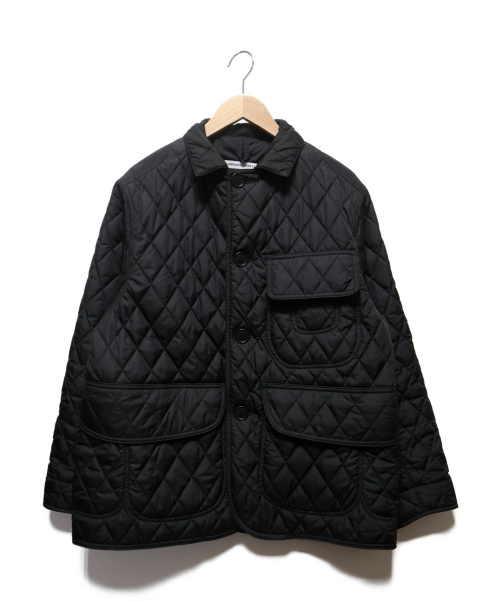 BAMBOO SHOOTS×MOUNTAIN RESEARCH(バンブーシューツ×マウンテンリサーチ)BAMBOO SHOOTS×MOUNTAIN RESEARCH (バンブーシューツ×マウンテンリサーチ) QUILTED HUNTING JACKET ブラック サイズ:Mの古着・服飾アイテム