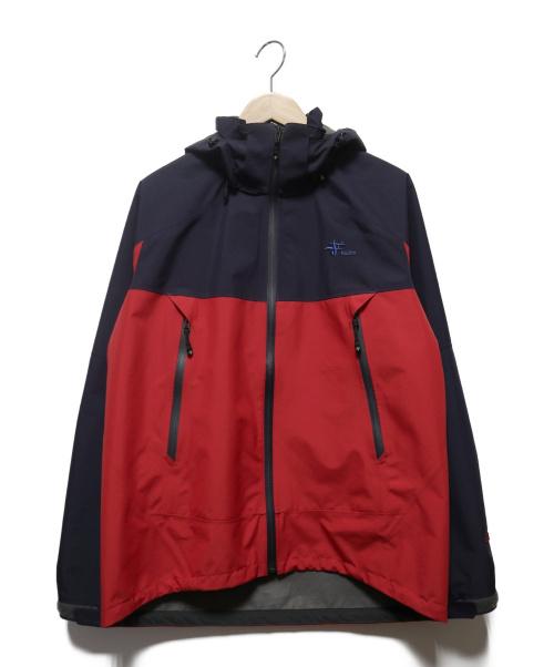 FOX FIRE(フォックスファイヤー)FOX FIRE (フォックスファイヤー) ミズリープジャケット レッド×ネイビー サイズ:Sの古着・服飾アイテム