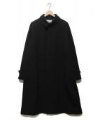()の古着「バルマカンコート」|ブラック