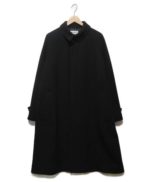 FORK&SPOON(フォーク&スプーン)FORK&SPOON (フォーク&スプーン) バルマカンコート ブラック サイズ:4(下記参照)の古着・服飾アイテム