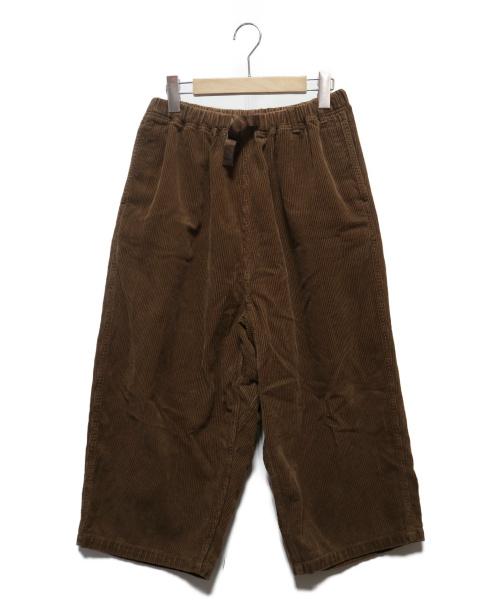 GRAMICCI(グラミチ)GRAMICCI (グラミチ) コーデュロイバルーンパンツ ブラウン サイズ:Freeの古着・服飾アイテム