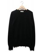 ()の古着「4Gボタンカシミヤセーター」|ブラック