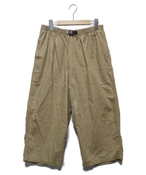 GRAMICCI(グラミチ)GRAMICCI (グラミチ) COTTON LINEN BALOON PANTS ベージュ サイズ:Freeの古着・服飾アイテム