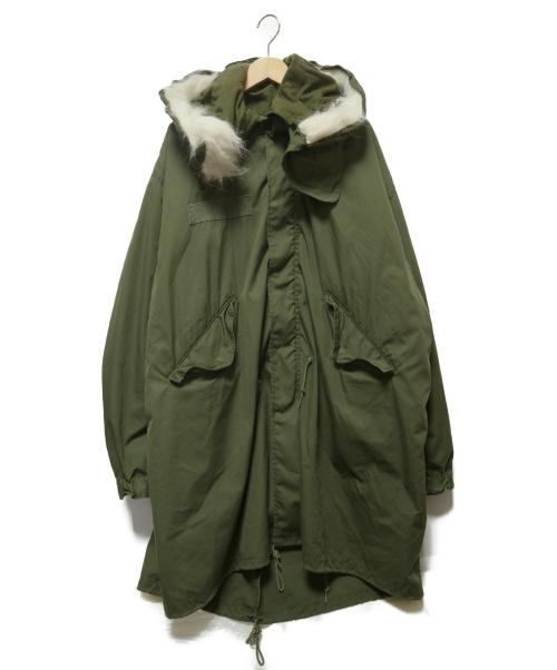 US ARMY(ユーエスアーミー)US ARMY (ユーエスアーミー) M-65 FISHTAIL PARKA FULL SET オリーブドラブ サイズ:Lの古着・服飾アイテム