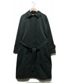 Traditional Weatherwear(トラディショナルウェザーウェア)の古着「ステンカラーコート」|グリーン