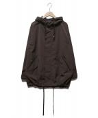 BARNYARDSTORM(バーンヤードストーム)の古着「フーデッドジャケット」|ブラウン