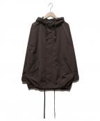 BARNYARDSTORM(バンヤードストーム)の古着「フーデッドジャケット」|ブラウン