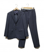 MORLES(モアレス)の古着「ノッチドラペルセットアップスーツ」 ネイビー