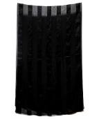 GIVENCHY(ジバンシィ)の古着「シルクスカーフ」|ブラック