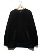 MountainEquipment(マウンテンイクイップメント)の古着「Knit Fleece Sweater」|グレー