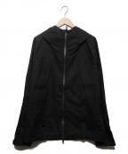 DESCENTE ALLTERRAIN(デザイント オルテライン)の古着「サーマルブラックウールミックスアクティブシェルジャケット」|ブラック