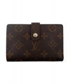 LOUIS VUITTON(ルイ ヴィトン)の古着「ポルトフォイユ・ヴィエノワ/二つ折り財布」|ブラウン