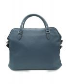 DURBAN(ダーバン)の古着「2WAYレザーバッグ」|ブルー