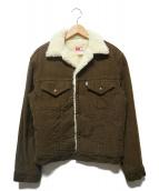 LEVIS(リーバイス)の古着「70605コーデュロイボアジャケット」|ブラウン