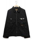 NEIGHBORHOOD(ネイバーフッド)の古着「FIXX.47/ER-JKT」 ブラック