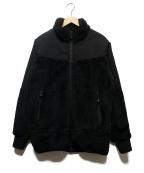 eN ROUTE(アンルート)の古着「切替フリースジャケット」|ブラック