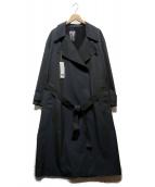 UNIQLO U(ユニクロ ユー)の古着「トレンチコート」|ダークグレー
