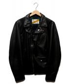Supreme×Schott(シュプリーム×ショット)の古着「Schott Custom Perfect Jacket」|ブラック